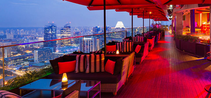 best rooftop bar in singapore